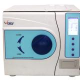 Lab Autoclave Sterilizer 12L Vacuum Steam LCD Screen With Printer