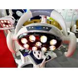 28W LCD Display Shadowless LED Operating Light Lamp for Dental Chair Unit