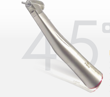 1:5 Increasing Inner Fiber Contra Angle 45°Surgical Mini Head